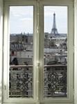 Фотообои DIVINO DECOR B-062 Окно в Париж 200х270см - фото 16413