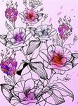 Фотообои DIVINO DECOR C-191 Цветы 200х270см - фото 17042