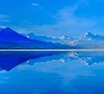 Фотообои DIVINO DECOR C-116 Озеро в горах 300х270см - фото 18285