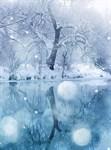 Фотообои DIVINO DECOR C-217 Зимний лес 200х270см - фото 18366