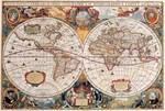 Фотообои DIVINO DECOR D-051 Старинная карта 400х270см - фото 18989