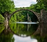 Фотообои DIVINO DECOR D-047 Арочный мост 300х270см - фото 19441