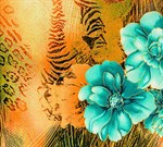 Фотообои DIVINO DECOR D-059 Дикий цветок 300х270см - фото 19585