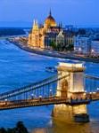 Фотообои DIVINO DECOR C-204 Мост в Будапеште 200х270см - фото 20585