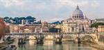 Фотообои DIVINO DECOR C-344 Мост Сант-Анджело в Риме 300х147см - фото 20658