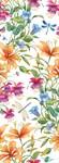 Фотообои DIVINO DECOR E-070 Стрекозы в цветах 100х270см - фото 21229