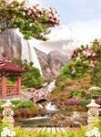 Фотообои DIVINO DECOR H-006 Японский сад  200х270см - фото 21572