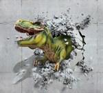 Фотообои DIVINO DECOR H-048 Динозавр объемный  300х270см - фото 22148