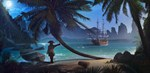 Фотообои DIVINO DECOR H-052 Пиратский остров 300х147см - фото 22296