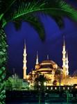 Фотообои DIVINO DECOR C-193 Вид на Голубую мечеть 200х270см - фото 23016