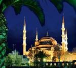 Фотообои DIVINO DECOR C-167 Вид на Голубую мечеть 300х270см - фото 23151