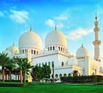 Фотообои DIVINO DECOR C-170 Мечеть шейха Зайда на рассвете 300х270см - фото 23178