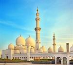 Фотообои DIVINO DECOR C-180 Мечеть в Абу-Даби 300х270см - фото 23214