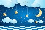 Фотообои DIVINO DECOR K-044 Звезды и месяц 400х270см - фото 23708