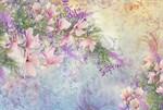 Фотообои DIVINO DECOR K-034 Цветы 400х270см - фото 23891