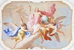 Фотообои DIVINO DECOR L-025 Ангелы фреска 400х270см - фото 24455