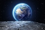 Фотообои DIVINO DECOR L-117 Вид на Землю с Луны 400х270см - фото 24511